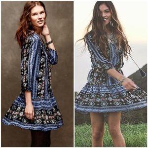 Anthropologie Winter Moon Tunic Dress